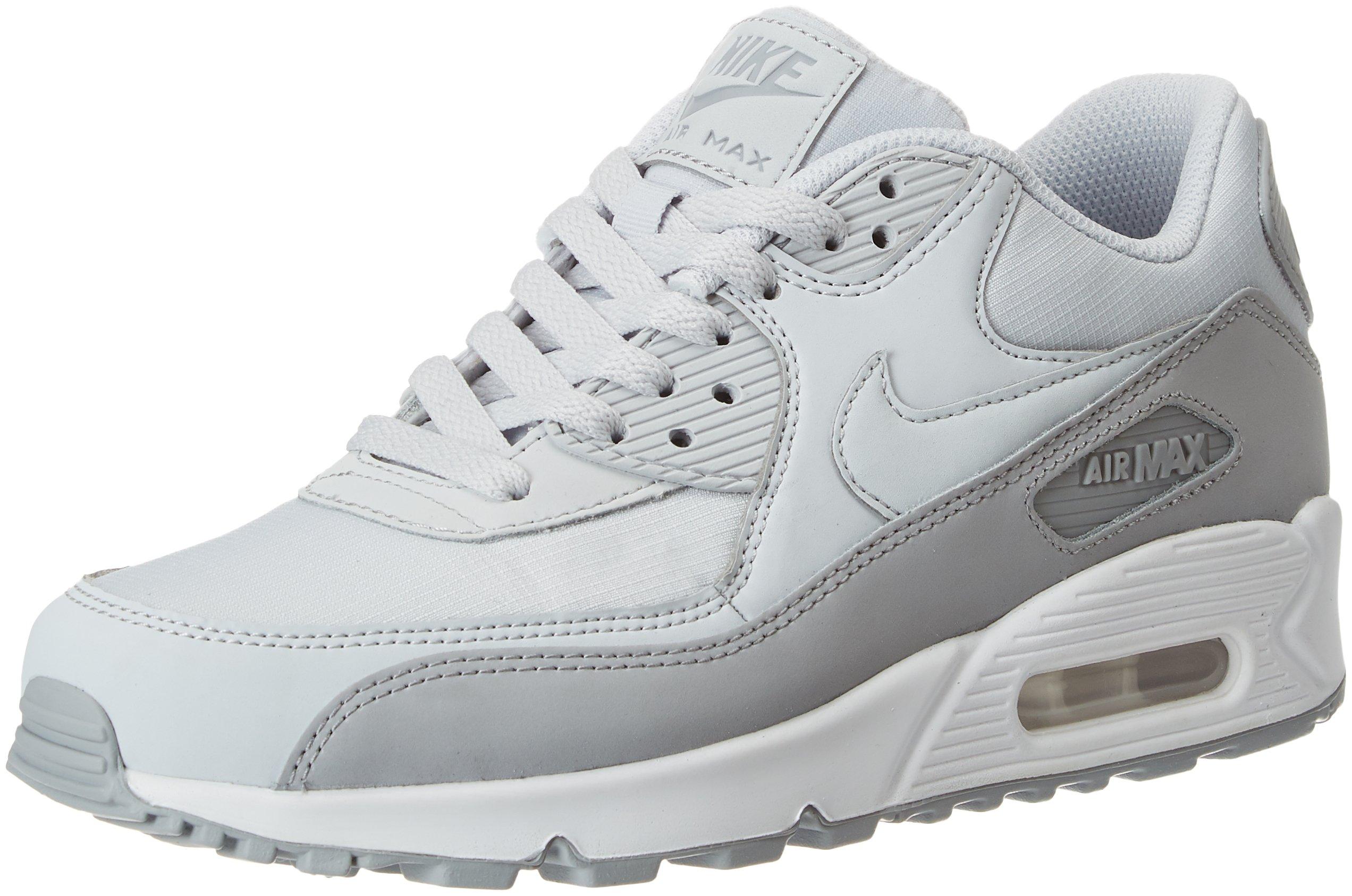 Nike Air Max 90 Leather Herren Sneakers, weiß (whitewhi
