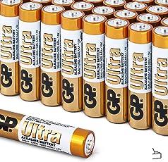 TPS, Godrej GP Ultra Alkaline Cell AAA Battery, 1.5v, Zero Mercury & Cadmium, Pack of 10 Cells (5 Blister Pack)