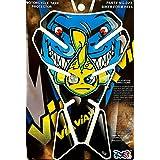 Protector para depósito de moto Rossi Edition, azul, amarillo, negro, multicolor, universal