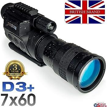 Rongland NV760D3+ Professional numérique Night Vision périphérique - Garantie  3 ans. Marque britannique. Qualité cdf8038ee870