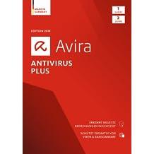 Avira Antivirus Plus Software Edition 2018 / Sicheres Virenschutzporgramm (2-Jahres-Abonnement) für 1 Gerät / Download für Windows (7, 8, 8.1, 10) und Mac [Online Code]