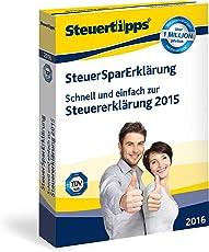 SteuerSparErklärung 2016 (für Steuerjahr 2015)