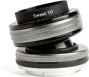 Lensbaby LB-3U8C Composer Pro II mit Sweet 50 Optik für Anschluss Canon EF schwarz