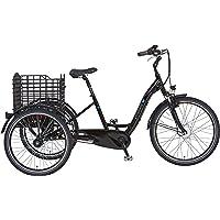 """Prophete Unisex – Erwachsene Cargo 3R 20.ESL.10 E-Bike 24""""/26"""" BLAUPUNKT VR-Motor, schwarz, RH 46"""