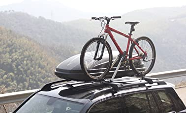 BikerZ Car Bike Rack : Roof Mounted