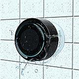 Haut-parleur de douche Enceinte Bluetooth Étanche Radios de Douche Haut-Parleur Portable avec FM Radio pour Douche Camping Voiture Voyage paires à tous les appareils Bluetooth Samsung iPhone iPad PC