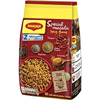 Maggi 2-Minute Special Masala Instant Noodles, 70g (Pack of 12)