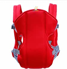 And Retails Cotton Baby Carriers, Belt Sling Kangaroo Bag (Red)