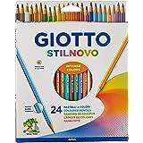 Giotto Stilnovo Lápices de Colores, Estuche 24 Uds.