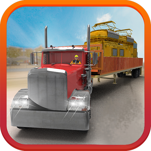 Train Transporter Truck 3D