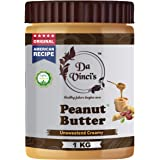 Da Vinci's Natural Peanut Butter Creamy   Unsweetened   Made with 100% Roasted Peanuts   No Added Sugar   No Added Salt   No