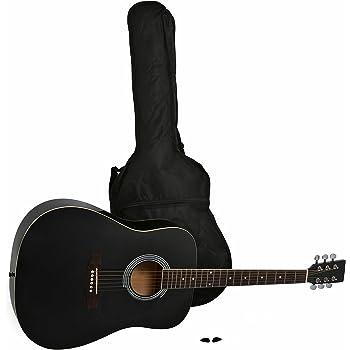 Cascha Westerngitarre Bundle Mit Viel Zubehör Hh 2141 De SchöNer Auftritt Akustische Gitarren