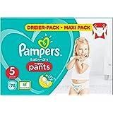 Pampers Baby-Dry Pants Luierbroekjes Maat 5, 78 broekjes, Luchtdoorlatende Banen