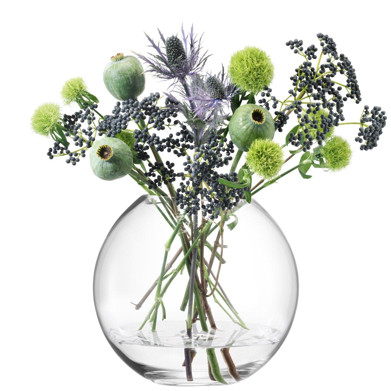 Lsa international 16 cm globe vase clear amazon kitchen lsa international 16 cm globe vase clear amazon kitchen home reviewsmspy