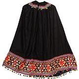 SAUDEEP INDIA Women's Rayon & Cotton Readymade Lehenga Choli