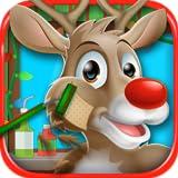 Christmas Shave - Santa & Reindeer Kids BarberShop & Beard & Haircut Games FREE