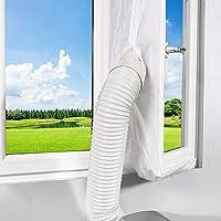 Tissu joint 210 cm pour climatisation fenêtres portes Tissu de calfeutrage kit climatiseur mobile portes et fenêtres…