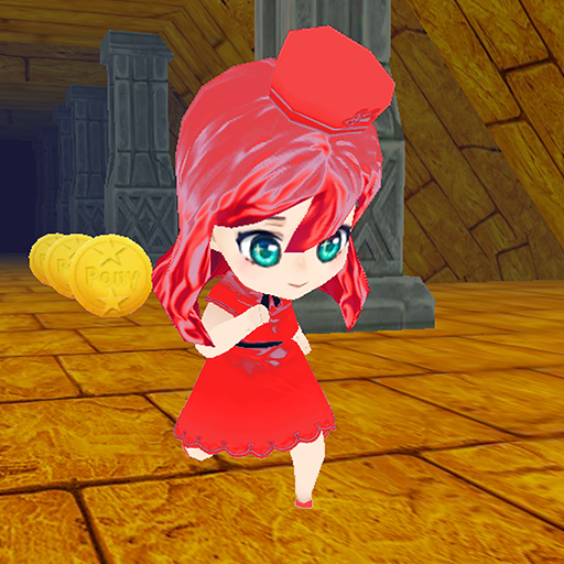Cinderella Run in Temple (Race For Your Life In Adventures World)