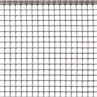 Rete Protettiva in Plastica a Maglia Quadrata per Balconi, Cancelli, Recinzioni o per Bordura, Tenax Quadra 10, Argento…