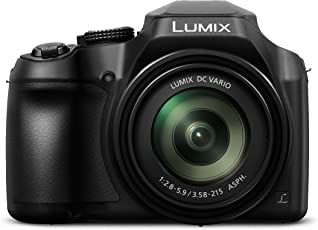 Panasonic Lumix DC-FZ82EG-K Bridgekamera (18 Megapixel, 20mm Weitwinkel, 60x opt. Zoom, 4K30p Videoaufname, Hybrid Kontrast AF) Schwarz
