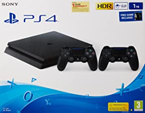 Sony PS4 Slim 1TB Console (Free Games: TLOU and DS4)