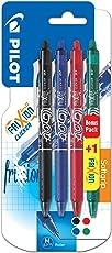 Pilot Frixion, inchiostro Gel, confezione da 3, temperatura, 1 con penna a sfera a punta media