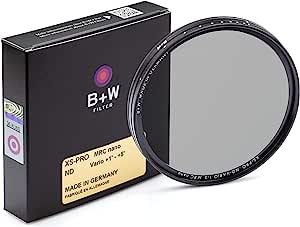 B W Graufilter Nd Vario Variabel Nd2 32 62mm Mrc Nano Xs Pro 16x Vergütet Premium