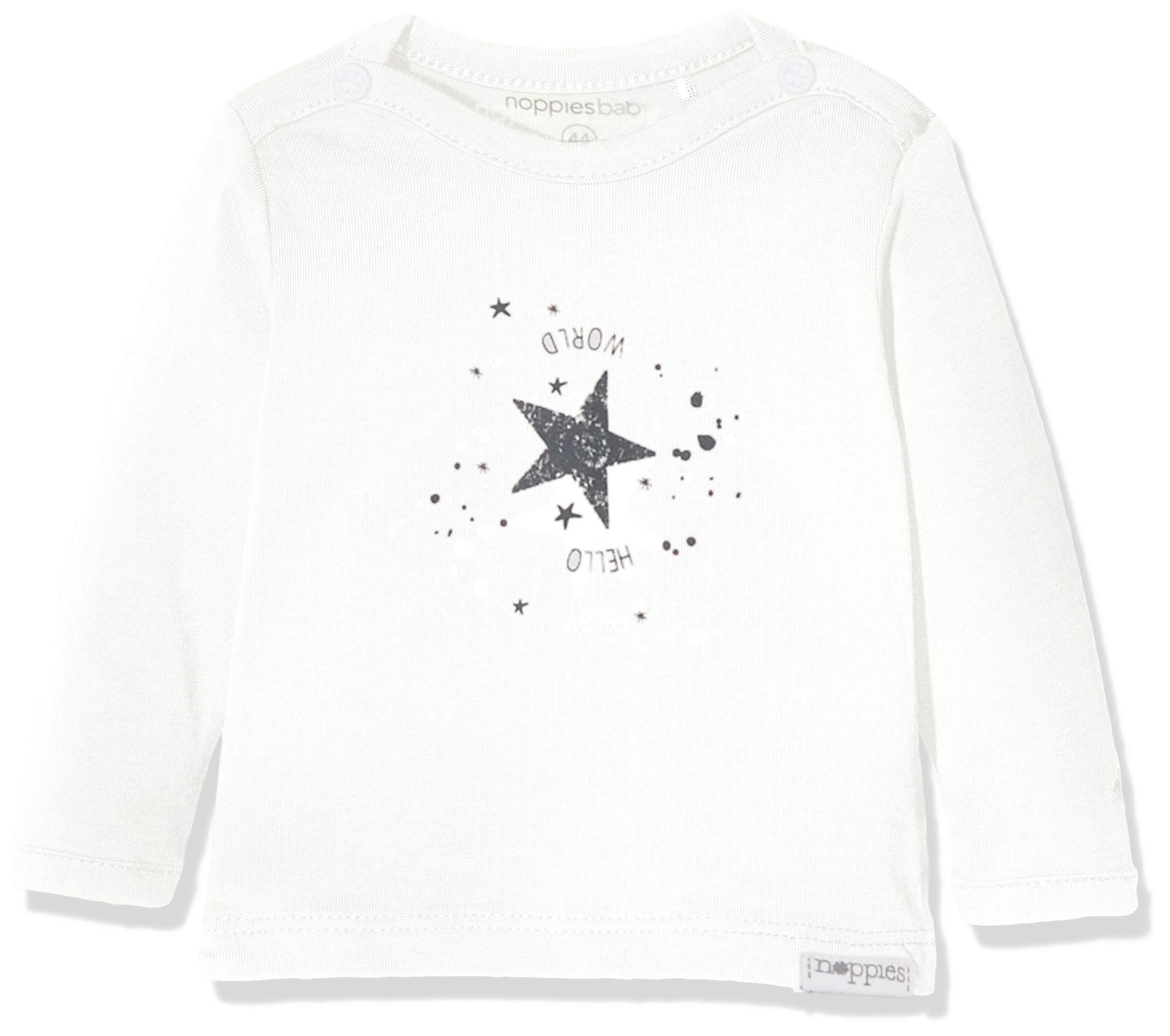 Noppies U tee LS Lux Tekst Camiseta para Bebés 1