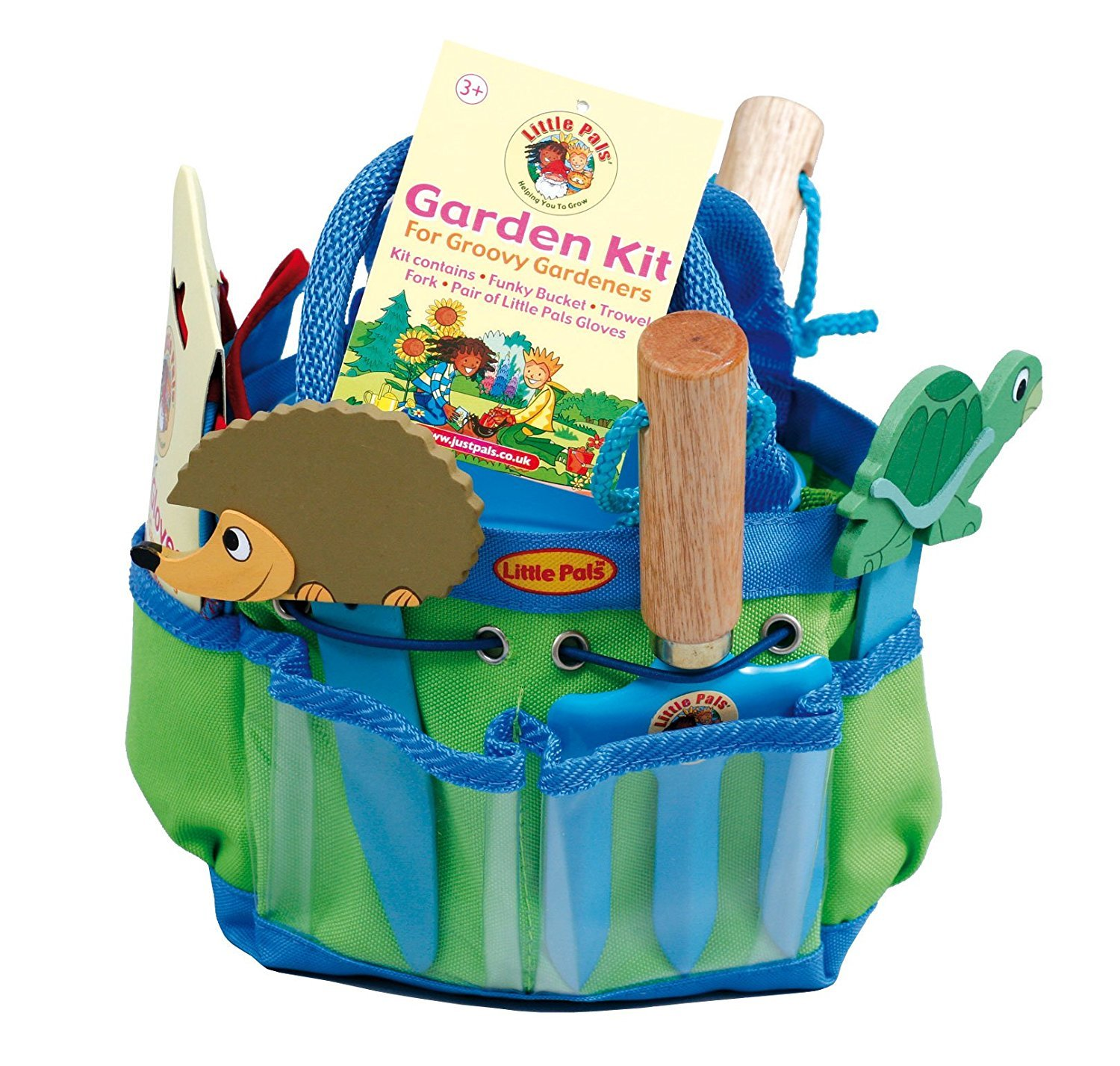 Childrens Gardening Tools Kit Blue Amazoncouk Garden Outdoors