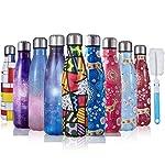 JOGVELO Bottiglia Acqua in Acciaio Inox - Senza BPA, Borraccia Termica Isolamento Sottovuoto a Doppia Parete, Borracce...