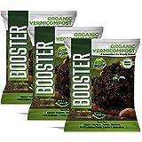 BOOSTER Organic Vermicompost Fertilizer Manure for Plants (15 kg)