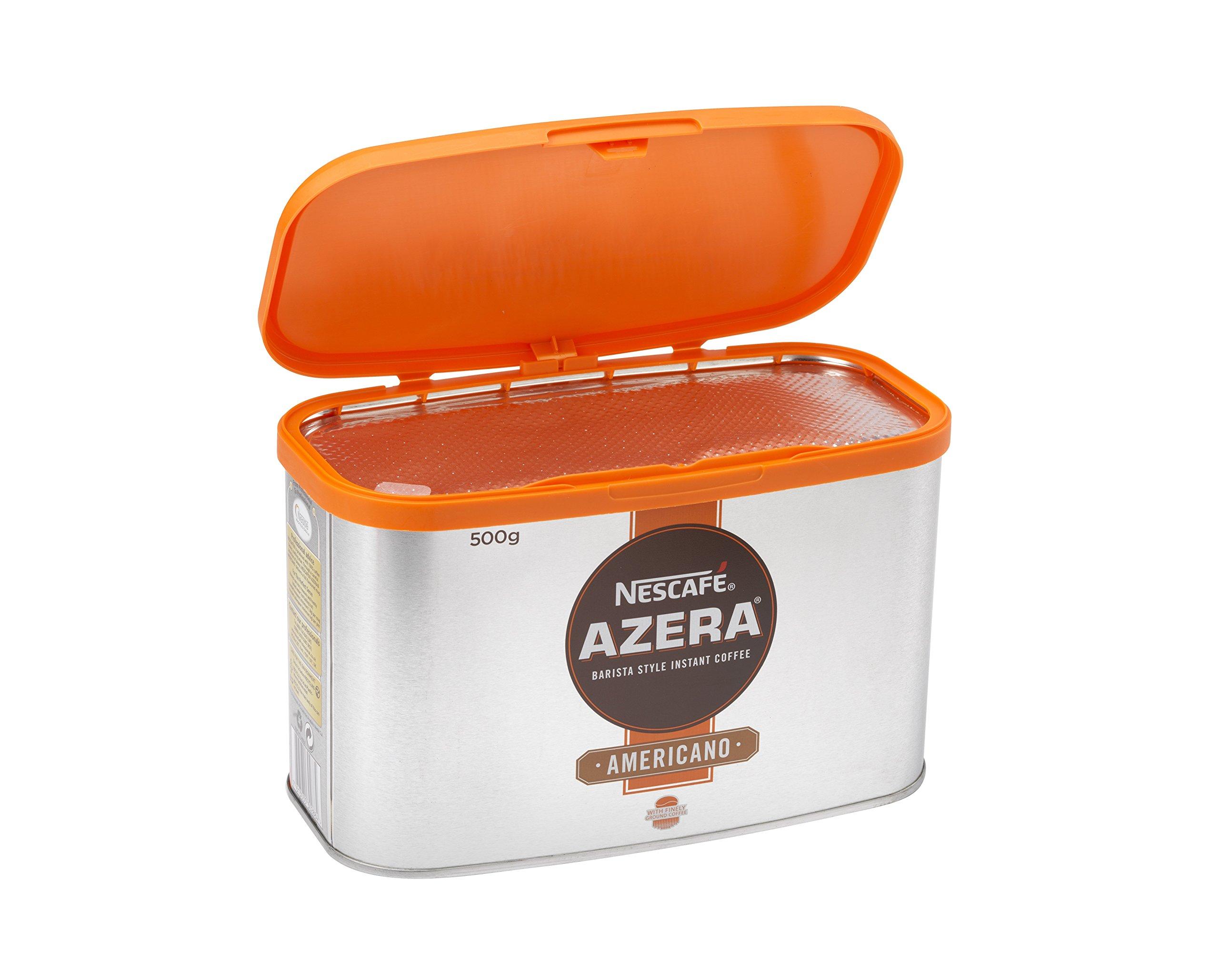 Nescafé Azera Americano Instant Coffee with Ground Beans 500g