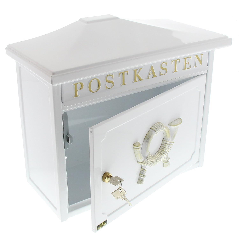 81qv-rke29L._SL1500_ Erstaunlich Briefkasten Weiß Mit Zeitungsrolle Dekorationen