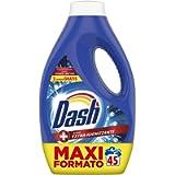Dash Detersivo Lavatrice Liquido, 45 Lavaggi, Azione Extra-Igienizzante, Maxi Formato, Rimuove le Macchie, per tutti i…