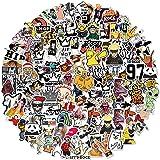 Dheckbluesky 200 stuks aanbevolen waterdichte vinyl grappige en modieuze stickers voor waterfles, jongeren, volwassenen, auto