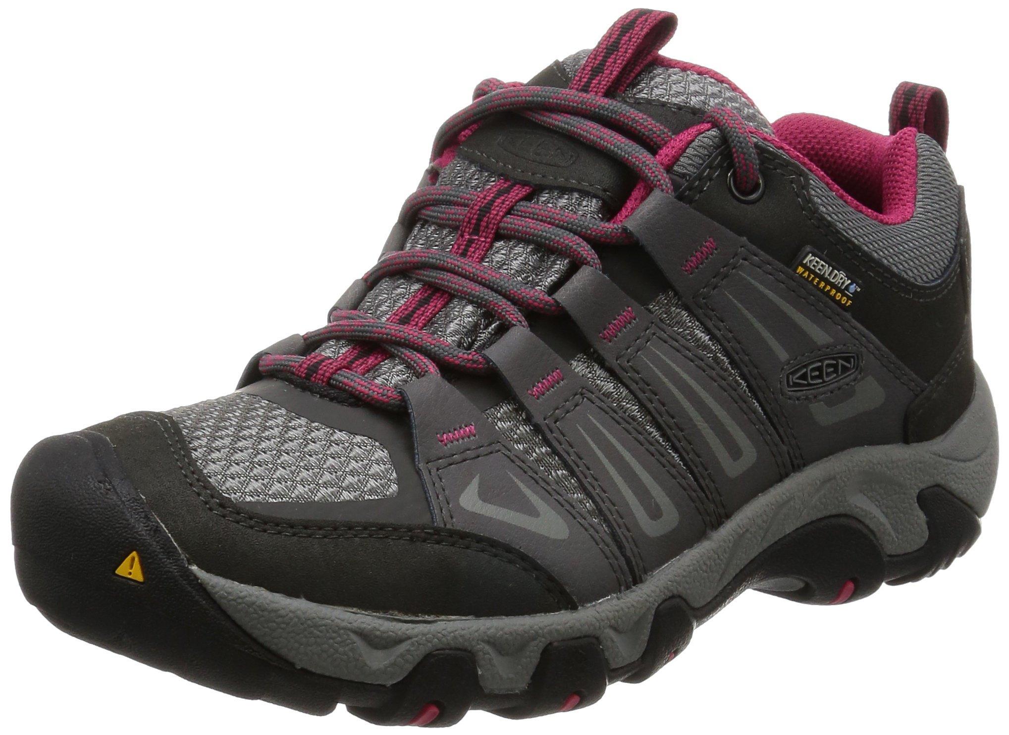 KEEN Women's Oakridge Wp Low Rise Hiking Shoes 1