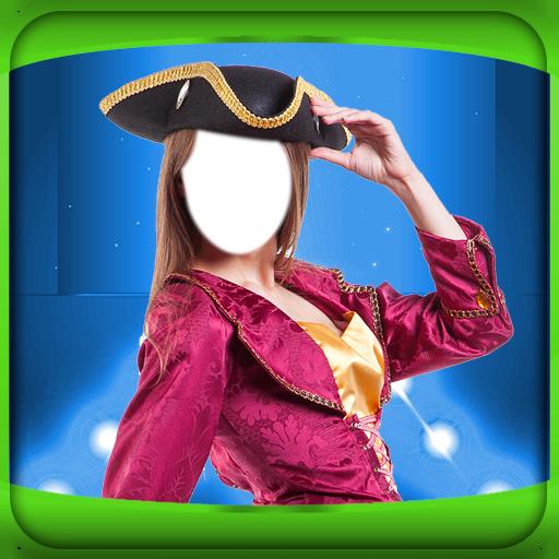 Piraten Märchen Kostüme (Frau Kostüm-Foto-Montage)
