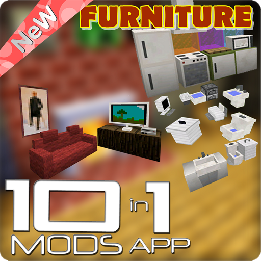 Furniture Mod Pack 10 In 1 Amazon De Apps Fur Android