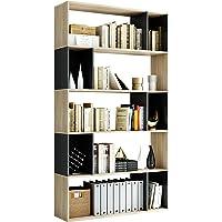 Homfa Bibliothèque Étagère Livres Étages de Rangement Meuble à 5 Niveaux pour Salon Séparateur de Pièce Bureau…