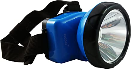 DOCOSS- Bright Rechargeable Headlamp Headlight Head Torch LED Flash Light Spotlight Rechargable for Camping Cycling Caving Hiking Hunting Trekking