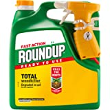 Roundup Fast Action Weedkiller, Ready to Use, Manual Spray 3 Litre