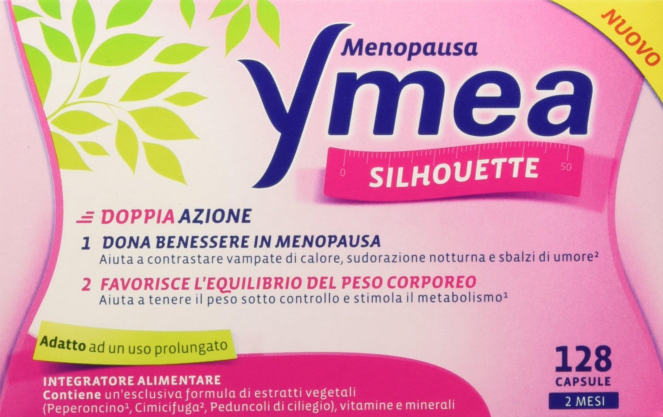 Ymea Silhouette Integratore Alimentare, Pastiglie per un Controllo del Peso Forma con Progressiva Riduzione delle… 1 spesavip