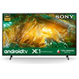 Sony Bravia 189.3 cm (75 inches) 4K Ultra HD Smart Certified Android LED TV 75X8000H (Black)