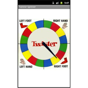 picture about Twister Spinner Printable identify Twister Spinner