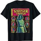 Netflix Stranger Things Group Shot Comic Cover T-Shirt