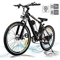 Hiriyt Faltbares E-Bike,36V 250W Elektrofahrräder, 8A Lithium Batterie Mountainbike,26 Zoll Große Kapazität Pedelec mit…
