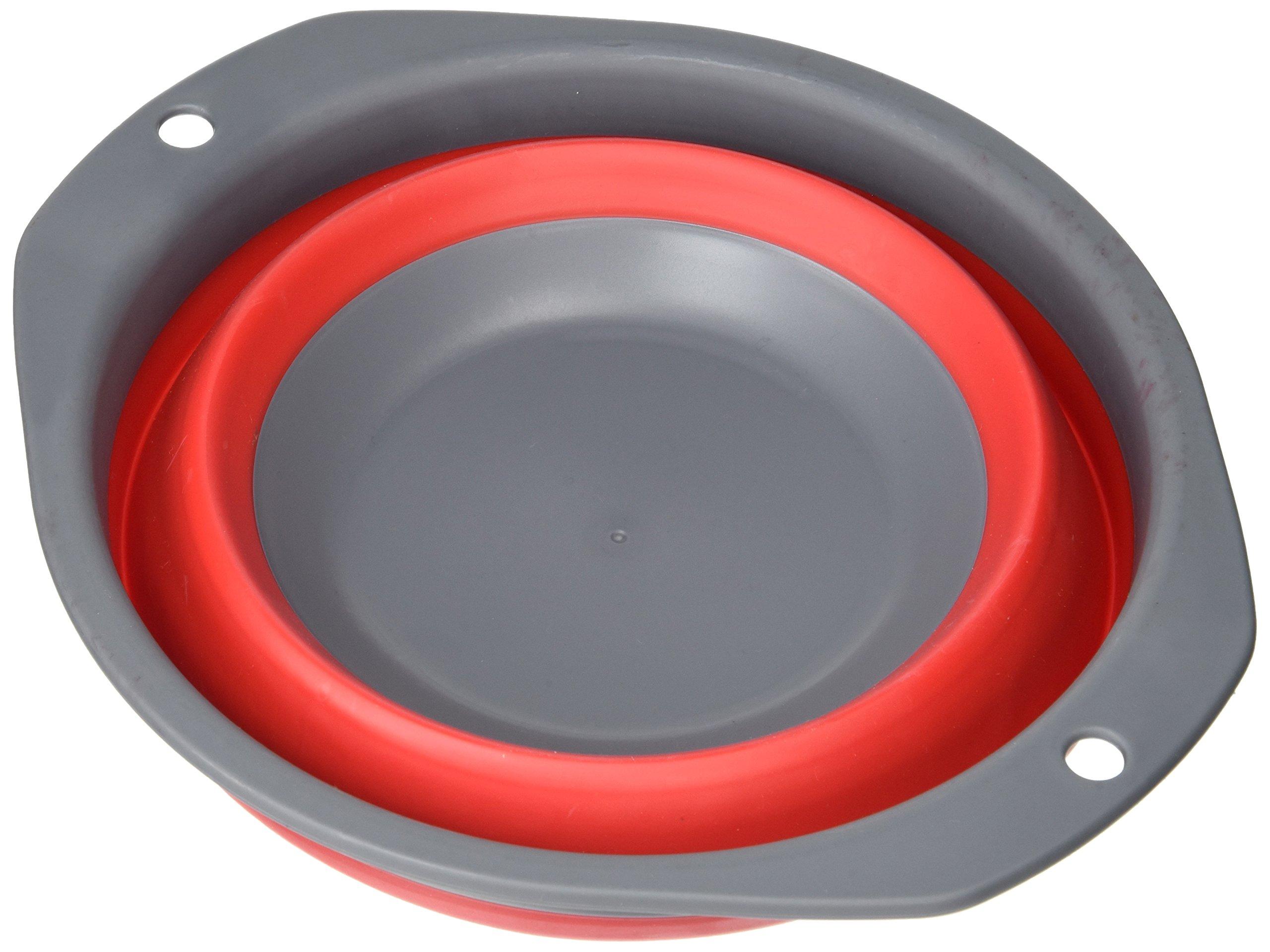 Outwell 550/103 - Scodella per minestra Collaps, misura S, colore: rosso