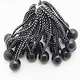 GQC Bungee Cord Ball, 25 Stks Tarp Bungee Ball 6 Inch Elastische Touw Stropdassen dekzeil banden Down Cord voor Banner Dekzei