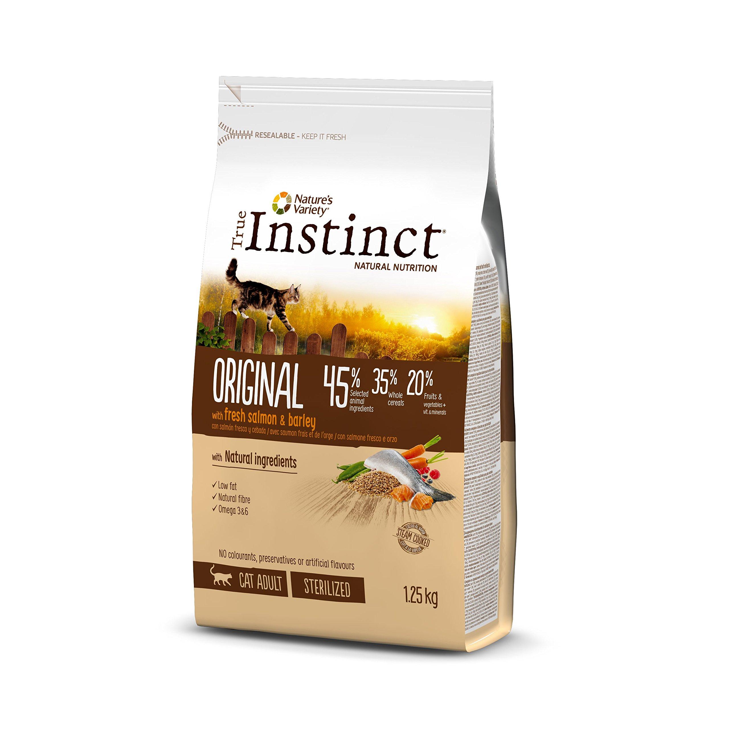 True Instinct Original Pienso para Gato Esterilizado Adulto con Salmón