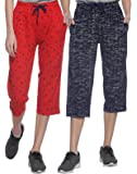 SHAUN Women Capri (Pack of 2)